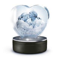 Medium Love 3D Crystal Tribute